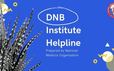DNB Institute Helpline